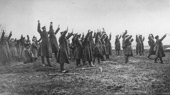 Венгерские пленные