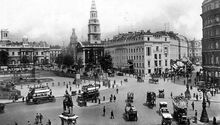1910-londres-trafalgar-square
