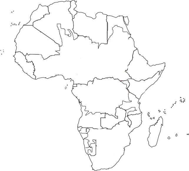 africa map png