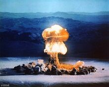Atomic-explosion-from-nuclear-weapons