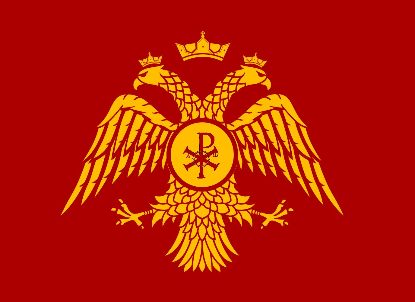 Image Flag Of The Roman Empire East 705 1265g Alternative