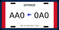 License plate of Dominica (Alternity).png