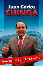 Afiche de Juan Carlos Chinga (Arica)