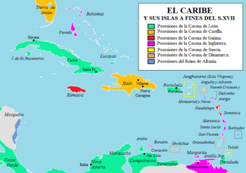 Caribe fines XVII