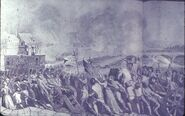 Parisian Section crossing to Tuilleries 1792