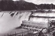 Sui-ho Dam under construction