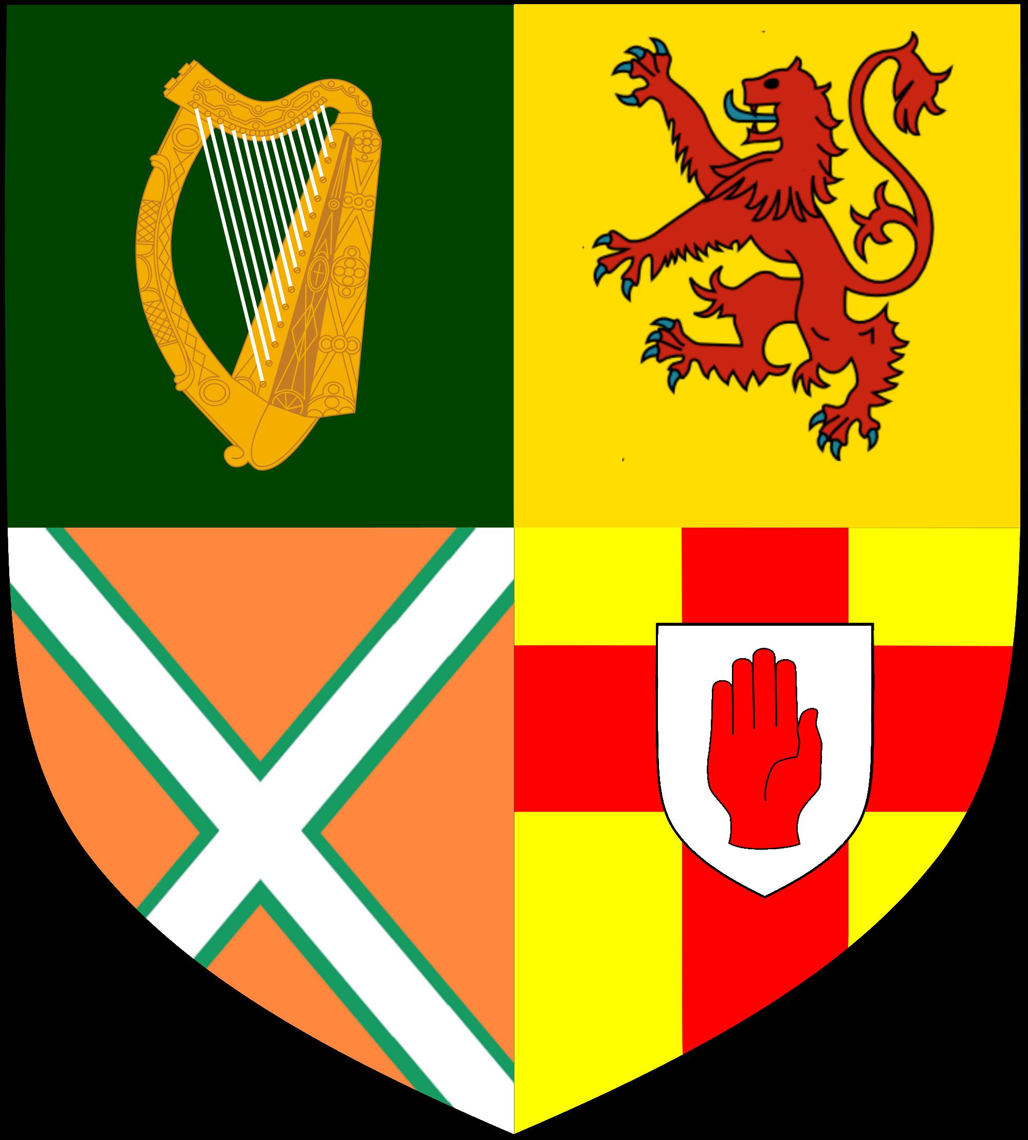 Image United Kingdom Of Scotland And Ireland Coa G