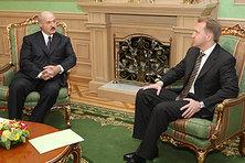 Лукашенко и Шувалов