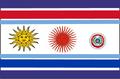 Bandera Estados Unidos del Plata