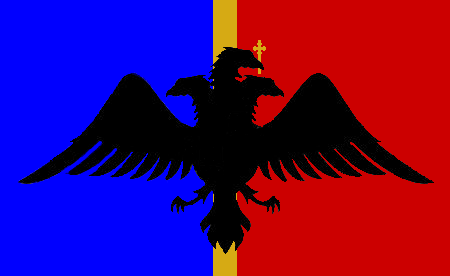 Dacian Flag Unfinished