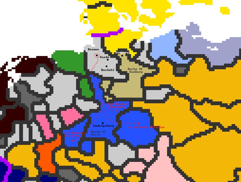 Hesse-Hamburg Bremen War Battle Plans v1
