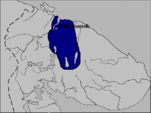 Map of Sapmi