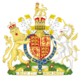 Royal Coat of Arms of the United Kingdom of England and Scotland