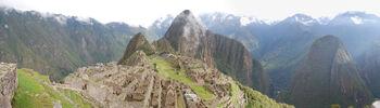 Ruinen von Maccu Picchu