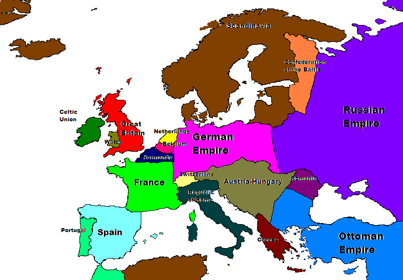 Image - Map of europe 1914.PNG | Alternative History | FANDOM ...