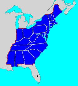 No Destiny map USA