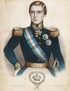 Dom Pedro V, Rei de Portugal - litografia colorida