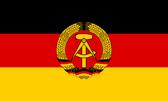 Флаг ГДР (до 1992) (МРГ)
