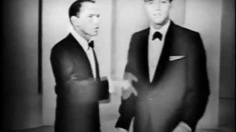 Frank Sinatra and Elvis Presley