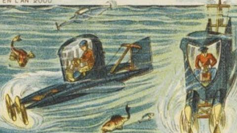Jahr 2000 Zukunftsvisionen im 19.Jahrhundert