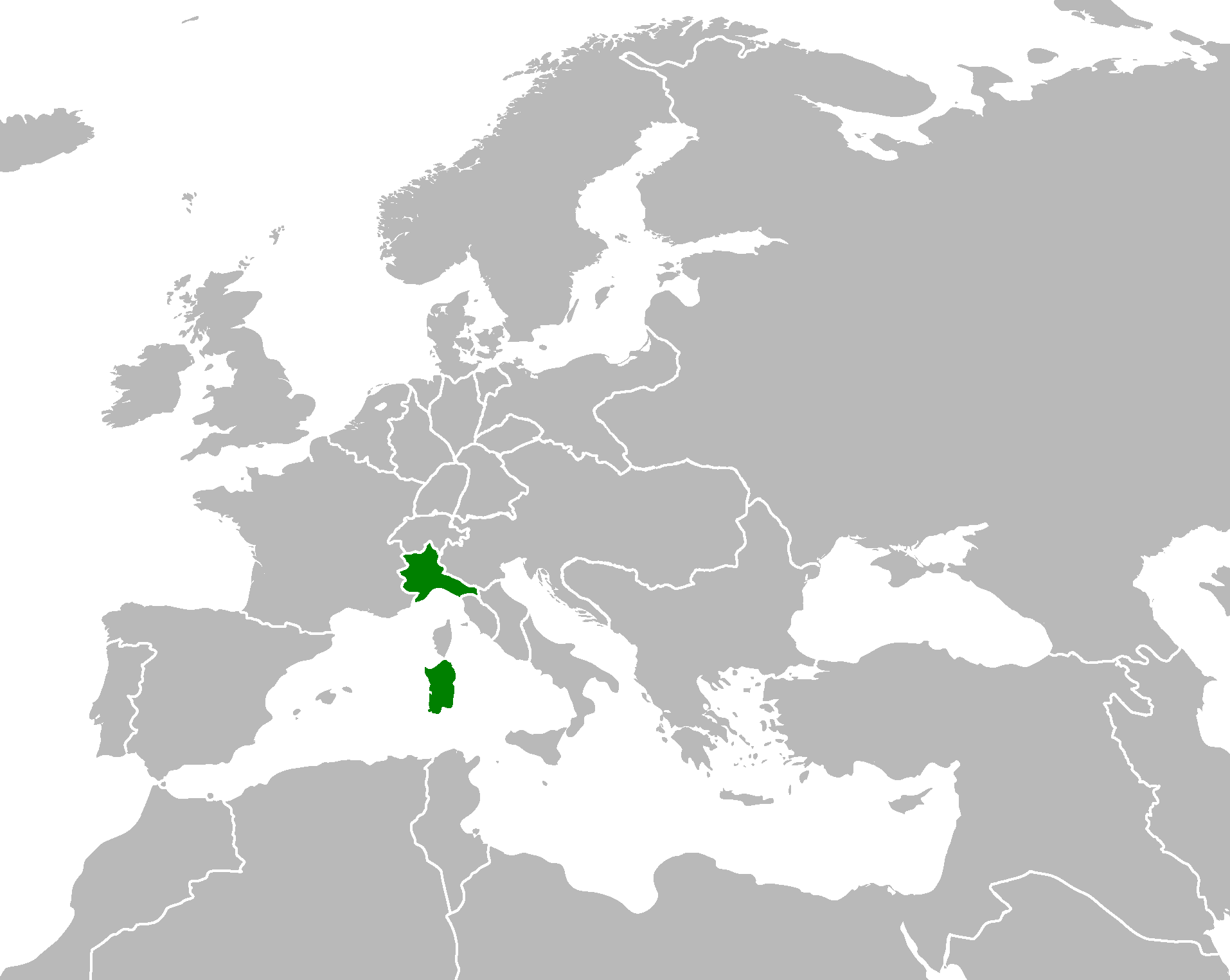 Kingdom Of Piedmont Sardinia Nationalism 1848 Alternative