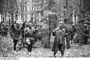 Russland Gefangennahme russischer Soldaten