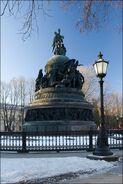 Памятник 250-летию независимости России