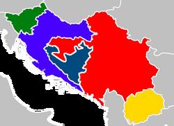 Распад Югославии (МРГ)