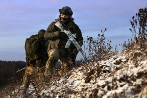 Солдаты Республиканской Армии России на Кавказе