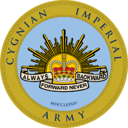 Seal of the Cygnian Imperial Army