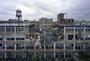 Разрушенный завод