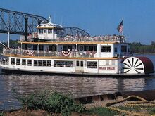 Hannibal MO riverboat