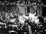 USA bryter de diplomatiska förbindelserna med Tyskland 3 februari 1917