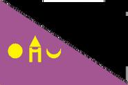 Drapeau Udaipur Mewâr
