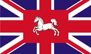 Grossbritannien-hannover-flagge