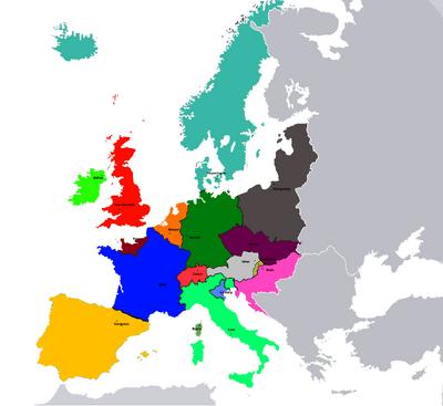 Provinzen des SIFR