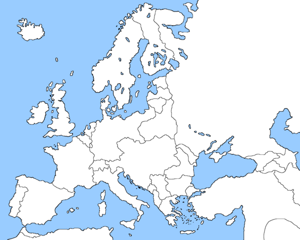 Europe Map 1914 Quiz - By ibidaburu