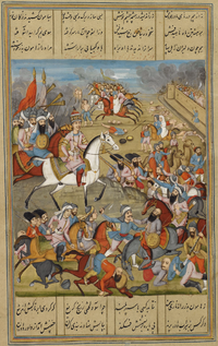 Capture and Sack of Kerman by Agha Mohammad Khan Qajar