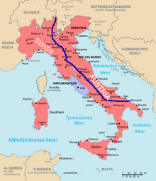 Italian Invasion Map Proposal
