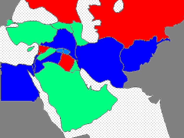 Cold War In The Middle East Casus Belli Alternative History