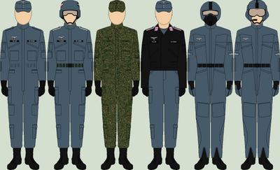 Die luftwaffe utility uniforms