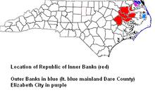 Inner Banks Location