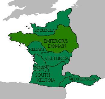 Keltoic Empire Map