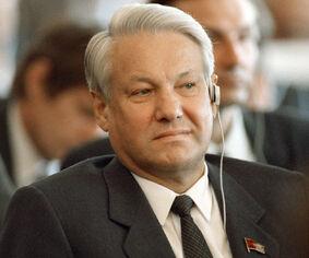 Борис Ельцин в 1990