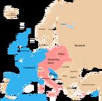 Alianzen in Europa 1911 Vive l'empereuer