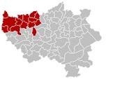 Arrondissement Waremme Belgium Map