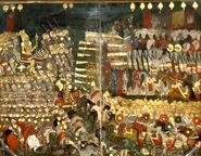 Battle of Mohács, Turkish miniature