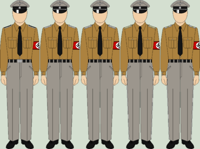 Die ss service uniforms summer
