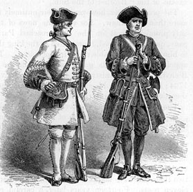 French Colonial Soliders
