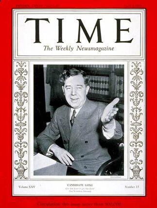 Time Magazine - Huey Long
